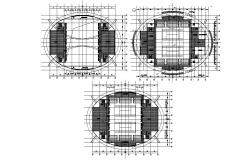 Planning Of Stadium AutoCAD File