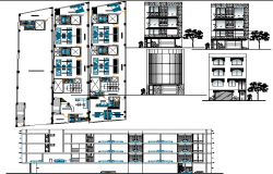 Planning and design of five star hotel.
