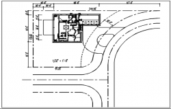 Planning bungalow details dwg files