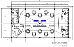 Planning detail of dwg file,