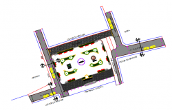 Planning detail of dwg file
