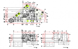 Planning home plan autocad file