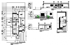 Planning house autocad file