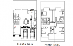 Planning house dwg file
