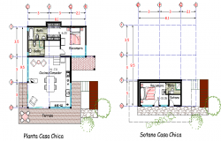 Planning house plan autocad file