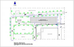 Planning of process development office dwg file