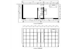Planning plot detail dwg file