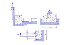 Plumbing Pipe Units Design AutoCAD Drawing Free Download