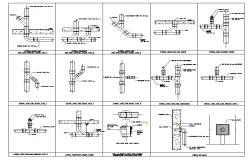 Plumbing cleanout plan detail dwg file.