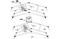Plumbing layout plan detail dwg file