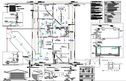Plumbing plan detail dwg file