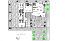 Pot area detail dwg file
