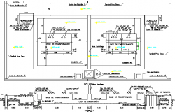 Power Substation Architecture Design and Elevation dwg file