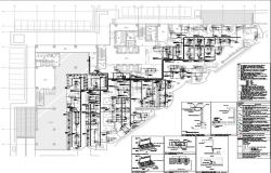 Power layout  of commercial building with all detail and description