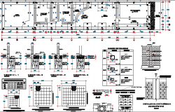 Private Multi-Specialty Hospital Architecture Project dwg file