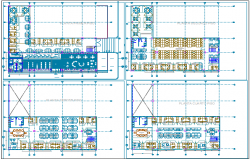 Proposal for remodeling plan of university dwg file