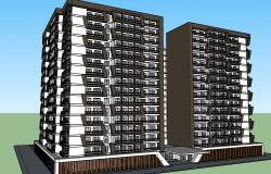 Proposed Condominium Building