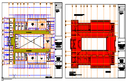 Proposed Layout of laboratory block design