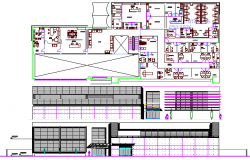 Prototype Clinic Architecture Project dwg file