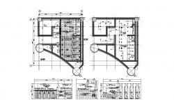 Public Toilet Plan CAD File