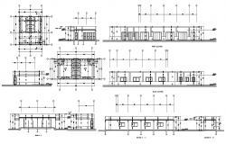 Public Toilet Plan CAD File download