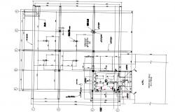 Pump House and Water Tank Design Layout Plan