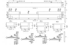 RCC construction details CAD Drawing download