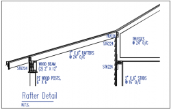 Rafter detail dwg file
