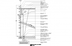 Rafter sand beam plan detail dwg file.