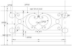 Railing free AutoCAD Drawings
