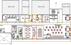 Recovery Rehabilitation Center Structure Details dwg file