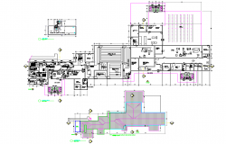 Refrigerator slaughter house plan detail dwg file