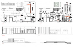 Refrigerator slauther house plan detail dwg file