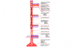 Reinforced wall concrete frame structure