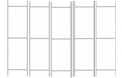 Reinforcement Bars CAD Drawing
