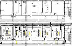 Remodeling Laboratory Architecture Plan and Structure Details dwg file.