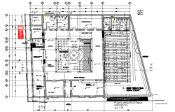 Renovation of commercial premises plan layout file