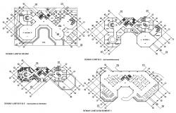 Research Center Plan CAD File