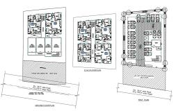 Residence Apartments CAD Plan