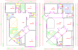 Residence Bungalow Layout Plan