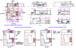 Residence Project detail dwg file