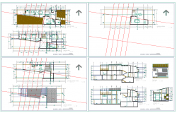 Residence Project dwg file
