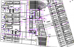 Residential Apartment Building Structure Details dwg file