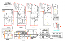 Residential Apartment Design in cad file