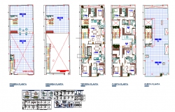 Residential Apartment House Lay-out & Structure detail