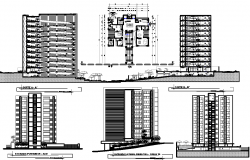 Residential Apartment Project detail dwg file