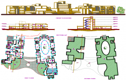 Residential Apartment project dwg file