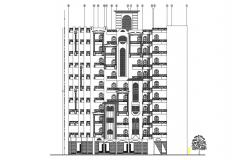 Residential Building Drawing