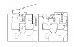 Residential Bungalow Lay-out