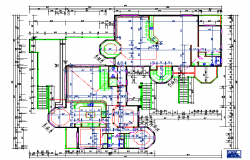 Residential House Floor Plan Lay-out design
